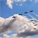 Akrobatska skupina Frecce Tricolori iznad Zadra ~ Slika 304605