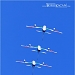 Akrobatska skupina Frecce Tricolori iznad Zadra ~ Slika 304611