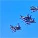 Akrobatska skupina Frecce Tricolori iznad Zadra ~ Slika 304612