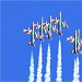 Akrobatska skupina Frecce Tricolori iznad Zadra ~ Slika 304615
