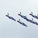 Akrobatska skupina Frecce Tricolori iznad Zadra ~ Slika 304618