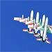Akrobatska skupina Frecce Tricolori iznad Zadra ~ Slika 304630