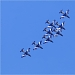 Akrobatska skupina Frecce Tricolori iznad Zadra ~ Slika 304634