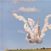 Akrobatska skupina Frecce Tricolori iznad Zadra ~ Slika 304638